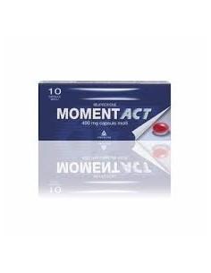 MOMENTACT 400 MG  10CAPSULE...