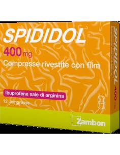 SPIDIDOL 12 COMPRESSE RIVESTITE 400MG