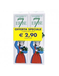 DENTIFRICIO 7 ERBE 50ML+50ML