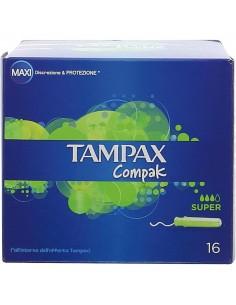 TAMPAX COMPAK SUPER 16 PEZZI