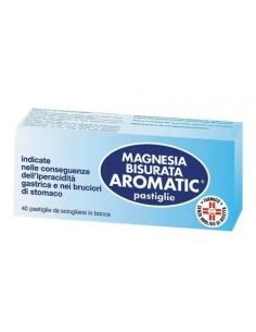 MAGNESIA BISURATA AROMATIC 40 COMPRESSE