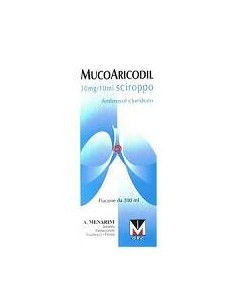 Mucoaricodil 30mg/10ml sciroppo mucolitico 200ml