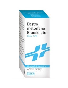 DESTROMETORFANO BROMIDRATO SELLA 15 MG/ML GOCCE ORALI,...