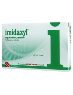Imidazyl Collirio 10 Flaconcini Monodose 0.5 ml