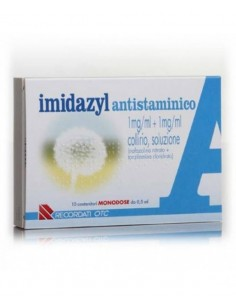 Imidazyl Antistaminico Collirio 10 Flaconcini Monodose...
