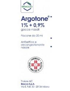 Argotone 1%+0,9% Gocce...