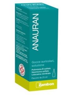Anauran Gocce Auricolari 25ml