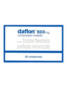 DAFLON 500 MG  30 COMPRESSE RIVESTITE CON FILM