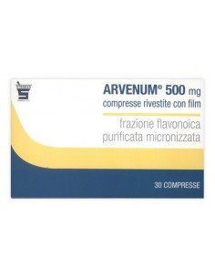ARVENUM 500 MG  30 COMPRESSE RIVESTITE CON FILM