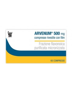 ARVENUM 500 MG 60 COMPRESSE RIVESTITE CON FILM