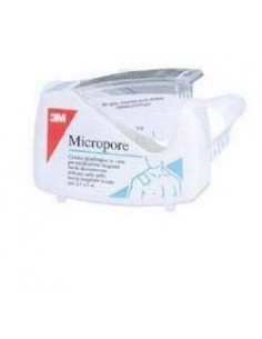 CEROTTO IN ROCCHETTO MICROPORE CM 2,5 X 5 MT DISPENSER 1...