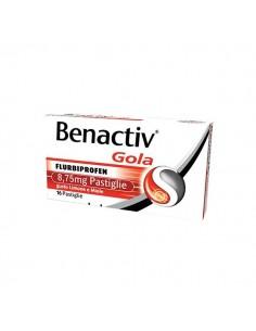 Benactiv Gola Flurbiprofen 16 caramelle Miele Limone