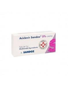 ACICLOVIR SANDOZ 5% CREMA 3 Grammi