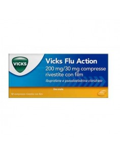 VICKS FLU ACTION 200 MG/30...
