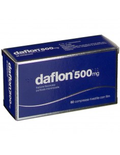 DAFLON 500 MG 60 COMPRESSE RIVESTITE CON FILM