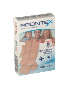 CEROTTO PRONTEX SKIN STRIPS 6 FORMATI ASSORTITI ASTUCCIO...