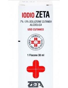 IODIO ZETA 7%/5% SOLUZIONE...