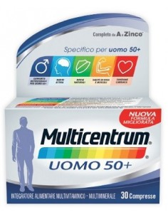 MULTICENTRUM UOMO 50+ 30...