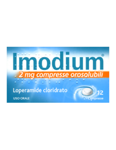 IMODIUM 2 MG 12 COMPRESSE...