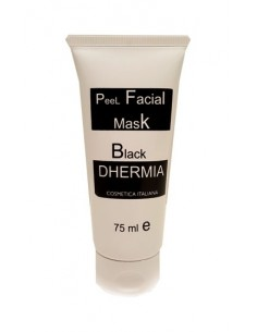 DHERMIA PEEL FACIAL MASK BLACK 75 ML
