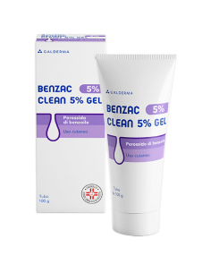 BENZAC 5% CLEAN GEL TUBO DA 100ML