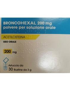 BRONCOHEXAL 200 MG BUSTINE (GENERICO FLUIMUCIL)