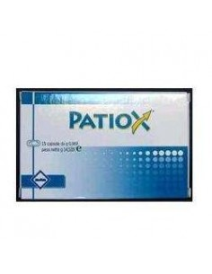 PATIOX 15 COMPRESSE 0,85 G