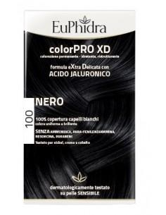 EUPHIDRA COLORPRO XD 100 NERO GEL COLORANTE CAPELLI IN...