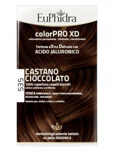 EUPHIDRA COLORPRO XD 535 CASTANO CIOCCOLATO GEL COLORANTE...