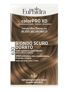 EUPHIDRA COLORPRO XD 630 BIONDO SCURO DORATO GEL...