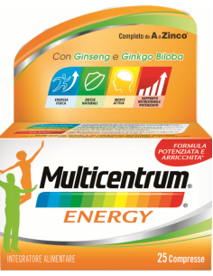 MULTICENTRUM MC ENERGY 25 CAPSULE