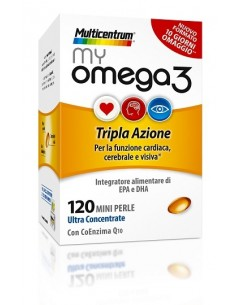 MULTICENTRUM MY OMEGA3 120...